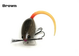 Brown Mighty Mouse lure