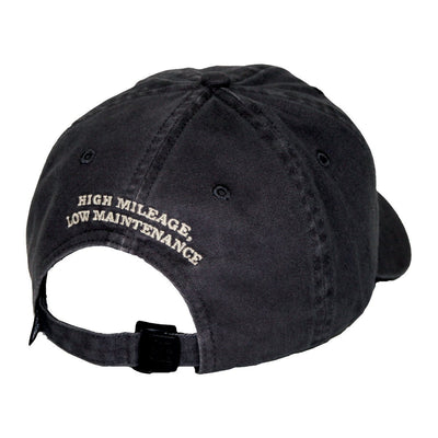 Old Guys Rule - Hat - V8 - Charcoal - Back View