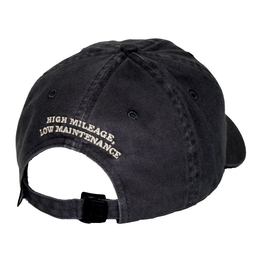 Old Guys Rule - Hat - V8 - Charcoal - Front View