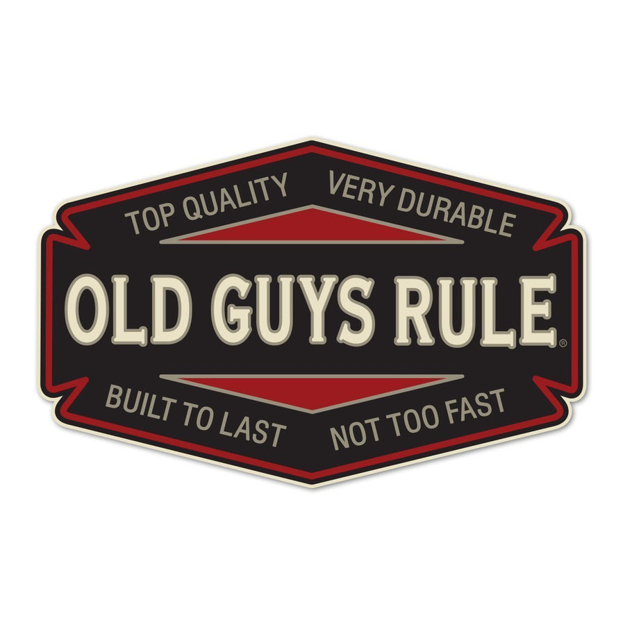 Old Guys Rule - Sticker - Top Quality