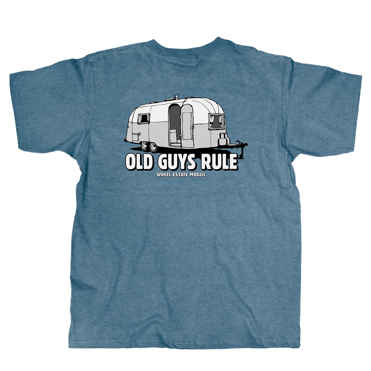 Old Guys Rule - Wheel Estate - Heather Indigo T-Shirt - Main View