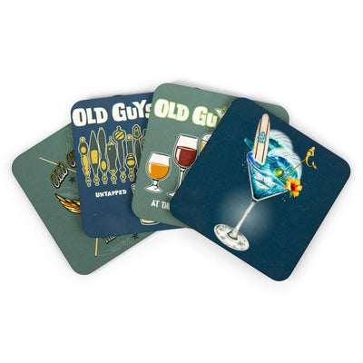 Drinking Themed Coasters (Set of 4)
