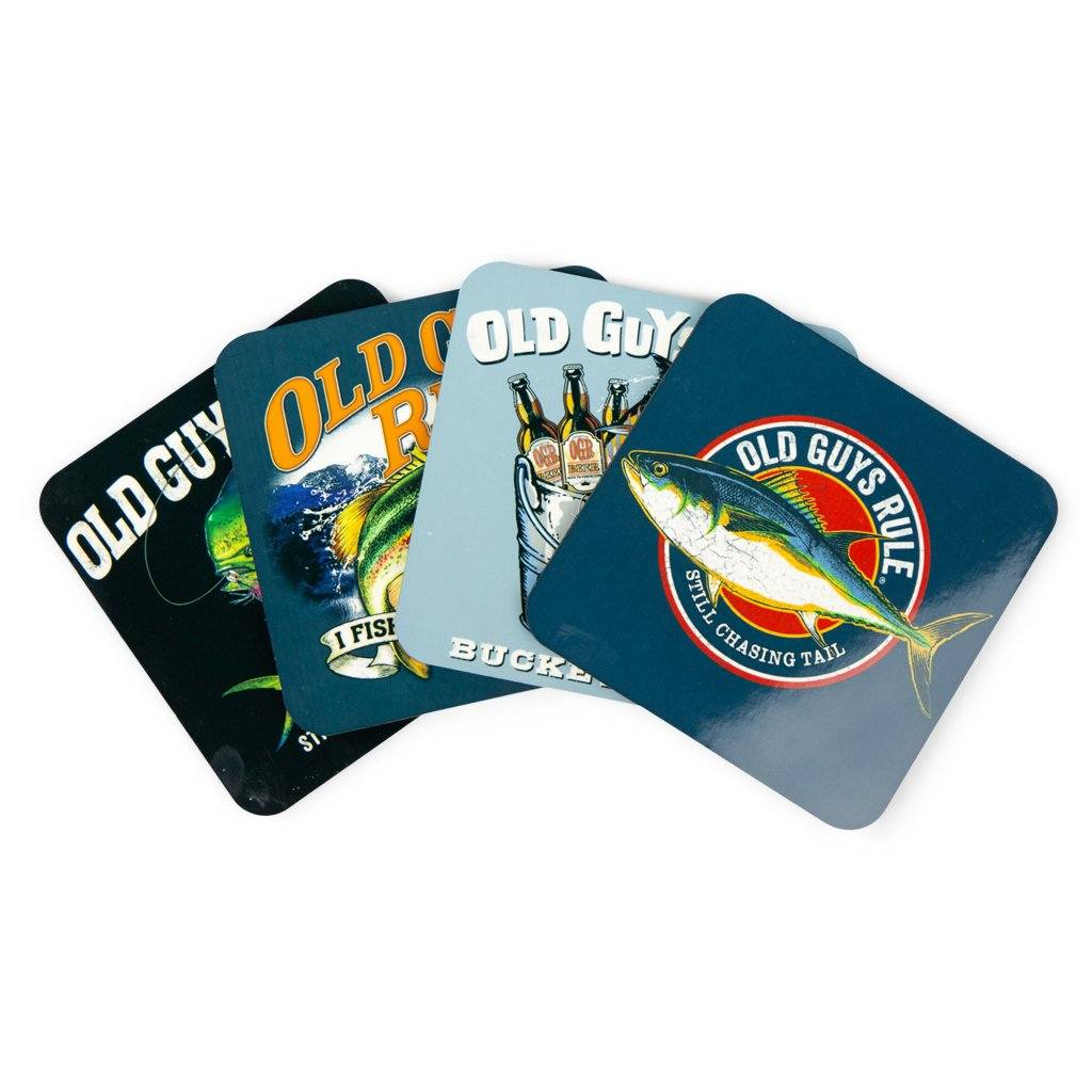 Fishing Themed Coasters (Set of 4)
