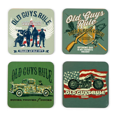 Outdoors Themed Coasters (Set of 4)
