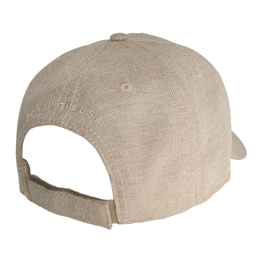 Old Guys Rule - Born In The USA - Khaki Hat - Front