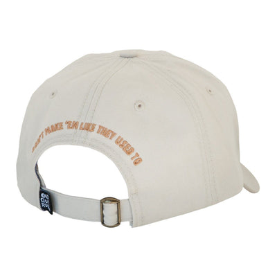 Old Guys Rule - Woodie Cap - Stone Hat - Back View
