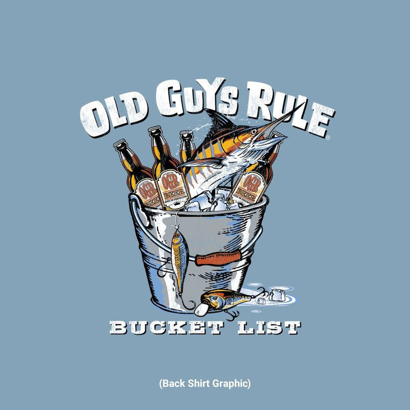 Old Guys Rule - Bucket List - Stone Blue - Main View