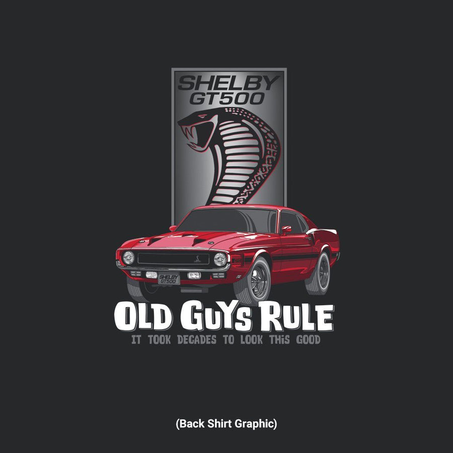 Old Guys Rule - Shelby Look Good - Black - Main View