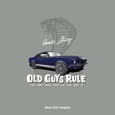 Old Guys Rule - Shelby GT500 - Gravel - Back Graphic
