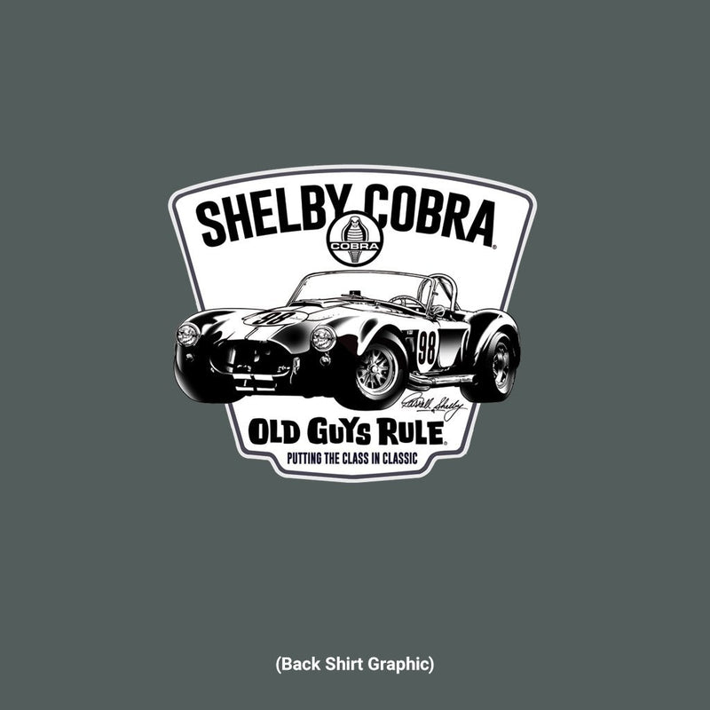 Old Guys Rule - Shelby Cobra 98 - Dark Heather - Main View