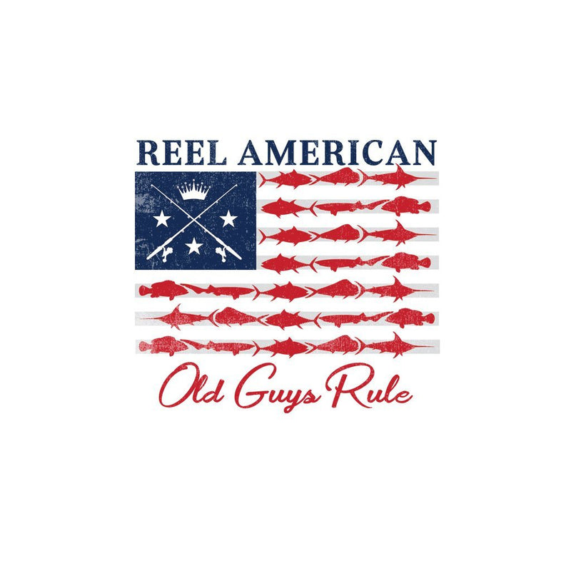Old Guys Rule - Reel American - White - Main View