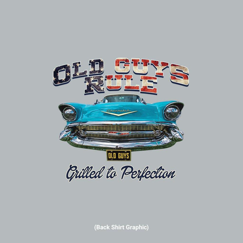Old Guys Rule - Grilled - Graphite Heather T-Shirt - Main View