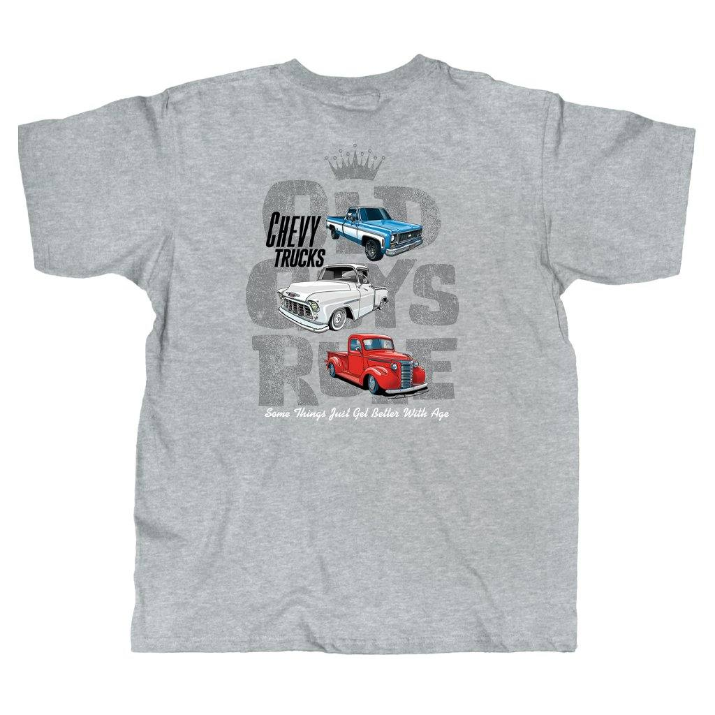 Old Guys Rule - Better With Age - Sport Grey T-Shirt - Main View