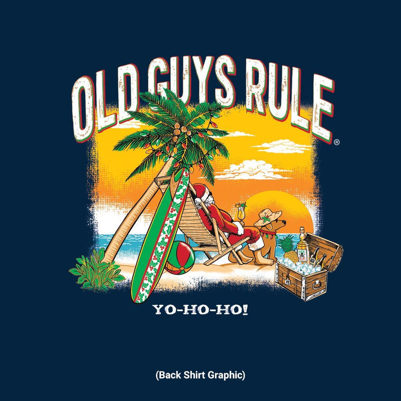 Old Guys Rule - Yo-Ho-Ho - Navy - Main View