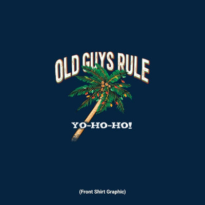 Old Guys Rule - Yo-Ho-Ho - Navy - Front Graphic