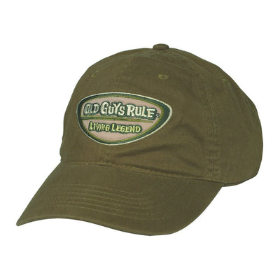 Old Guys Rule - A Legend In My Own Mind - City Green Hat - Front