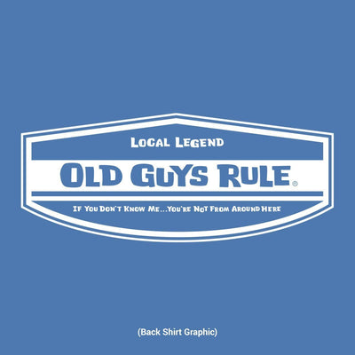 Old Guys Rule - Local Legend - Iris - Back Graphic