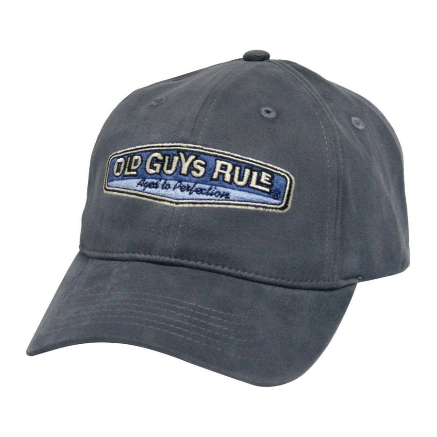Old Guys Rule - Aged To Perfection - Slate Hat - Front 7a7db28fa90a
