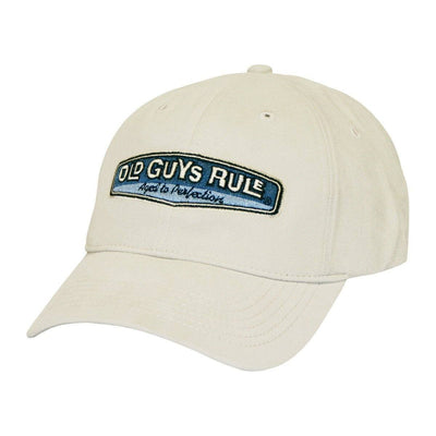 Old Guys Rule - Aged To Perfection - Stone Hat - Front