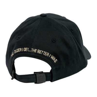 Old Guys Rule - The Older I Get... The Better I Was - Charcoal Hat - Back