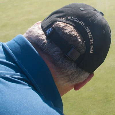 Old Guys Rule - The Older I Get... The Better I Was - Charcoal Hat