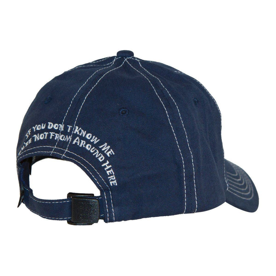 Old Guys Rule - Local Legend - If You Don't Know Me You're Not From Around Here - Navy Hat - Front