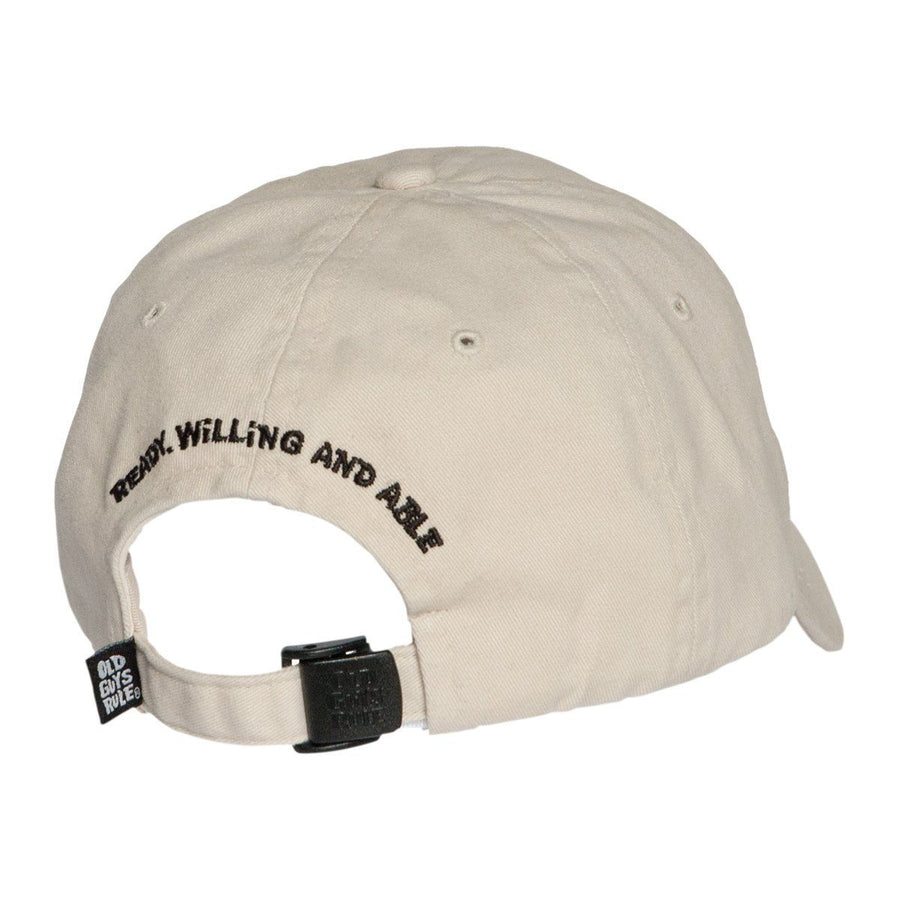 Old Guys Rule - Hat - Black Lab - Stone - Front View f6a258477cf2