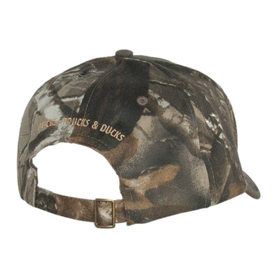 Old Guys Rule - Bucks, Trucks & Ducks - Camo Hat - Back