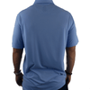 Old Guys Rule - Polo Golf Shirt - Placid Blue - Back