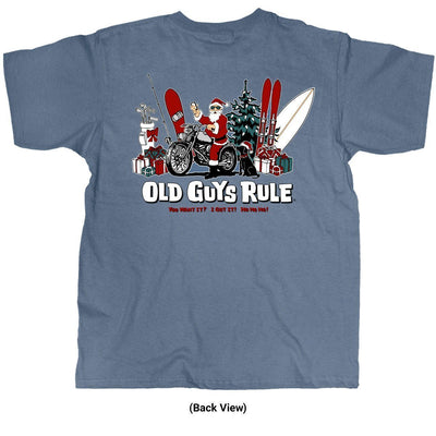 Old Guys Rule - You Want It? I Got It! - Lake T-Shirt - Back