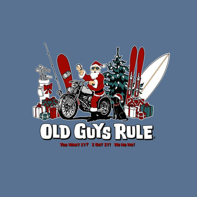 Old Guys Rule - You Want It? I Got It! - Lake T-Shirt - Back Design
