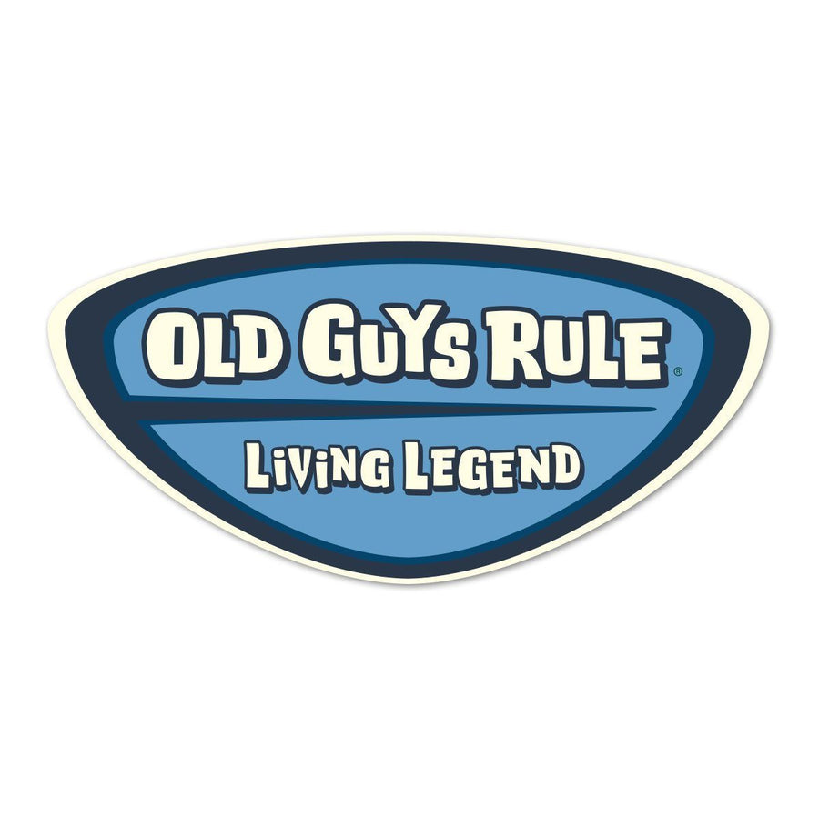 Old Guys Rule - Sticker - Main View