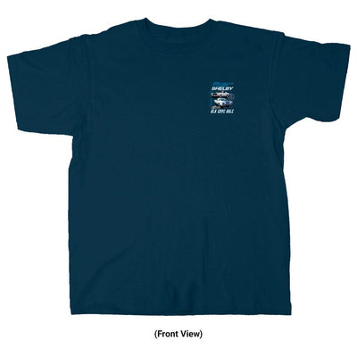 Old Guys Rule - Shelby 350 - Navy T-Shirt - Front View