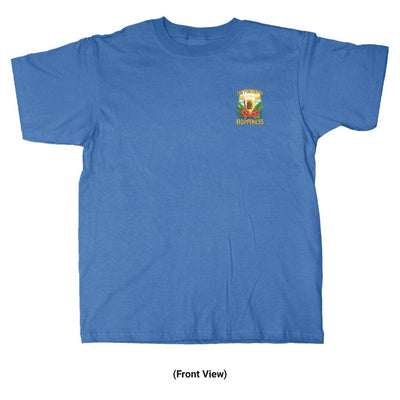 Old Guys Rule - Hoppiness - Iris T-Shirt - Front View