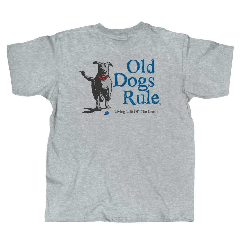 Old Guys Rule - Leash - Sport Grey T-Shirt - Main View