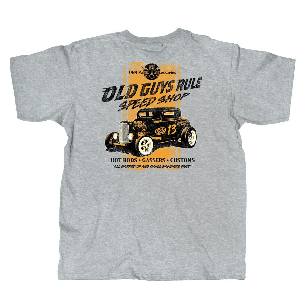 Old Guys Rule - Speed Shop - Sport Grey - Main View