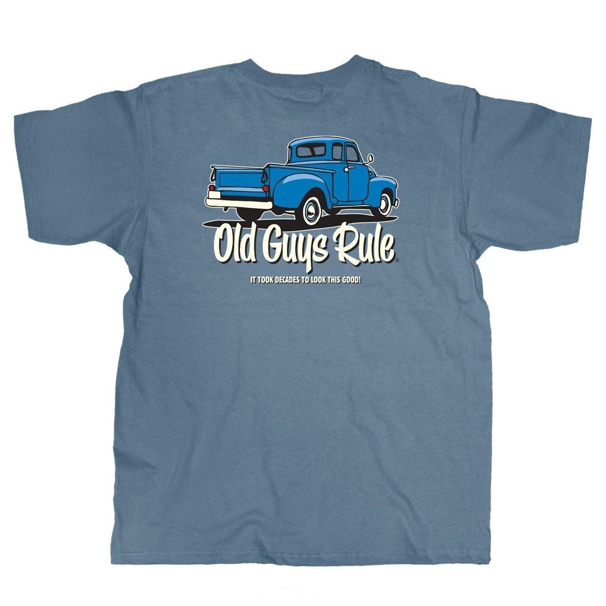 Old Guys Rule - It Took Decades To Look This Good - Lake T-Shirt - Design