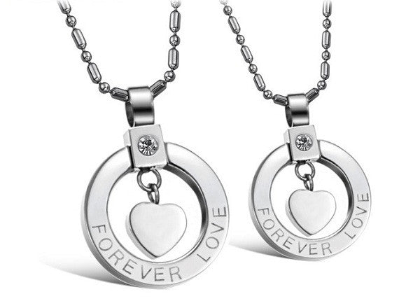 The Couples Gift Shop Forever Always Couples Necklace