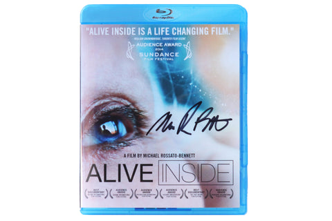 Alive Inside Special Edition Blu-Ray-  Signed by the Director