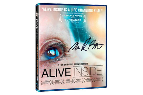 Alive Inside DVD -Special Edition- Signed by the Director