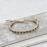 Exposed Roots Bracelet in Beige