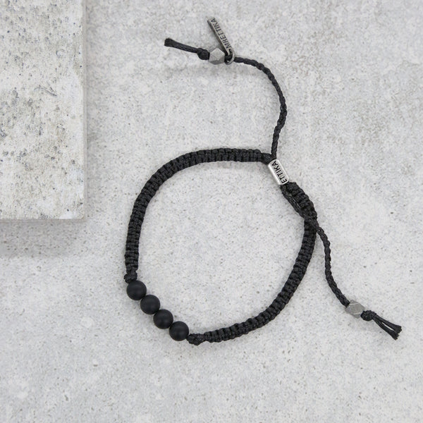 One Eye Open Bracelet in Black