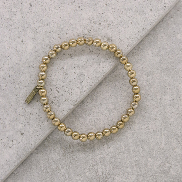 Chrome Condition Bracelet in Gold