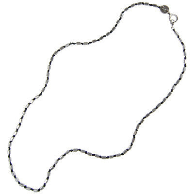 Rectangular Hishi Bead Necklace