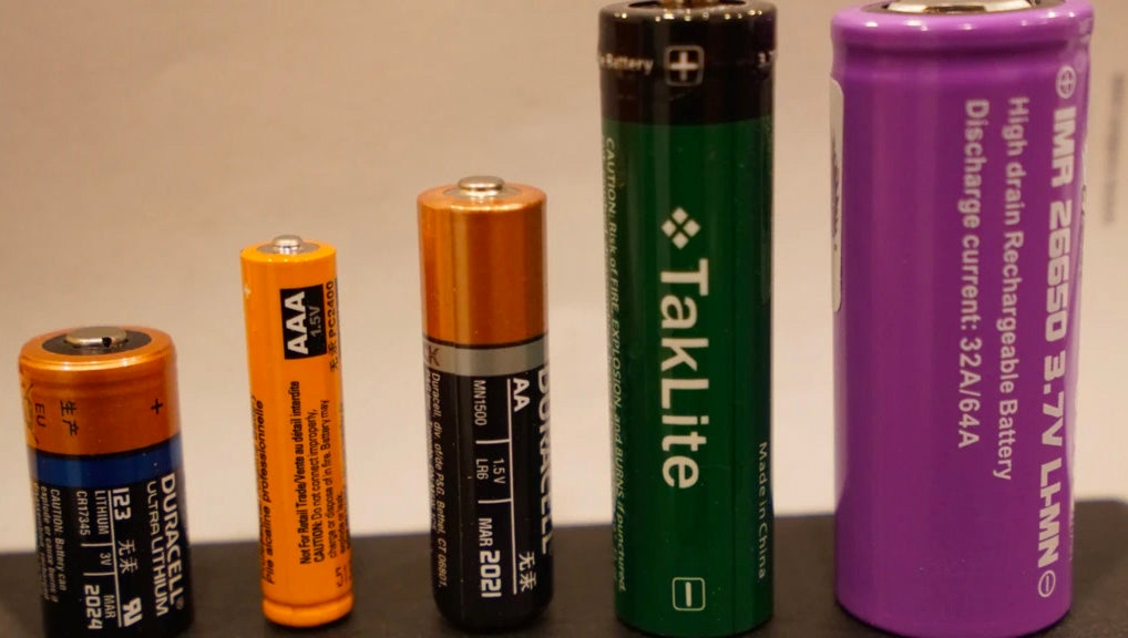 CR123A vs 18650: Which Battery To Choose?