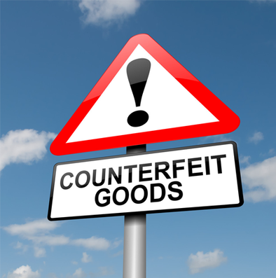 Notice Regarding Counterfeit Products