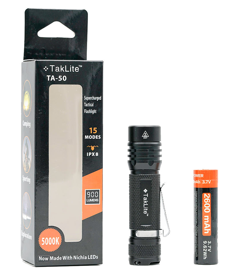 TakLite TA-50 V2 LED Flashlight