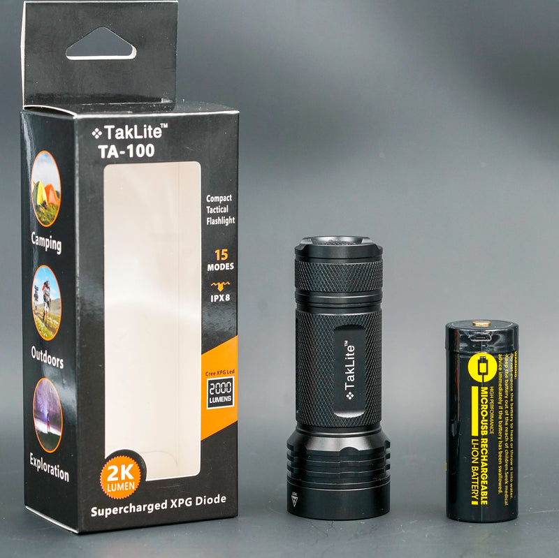 TakLite TA-100 LED Flashlight