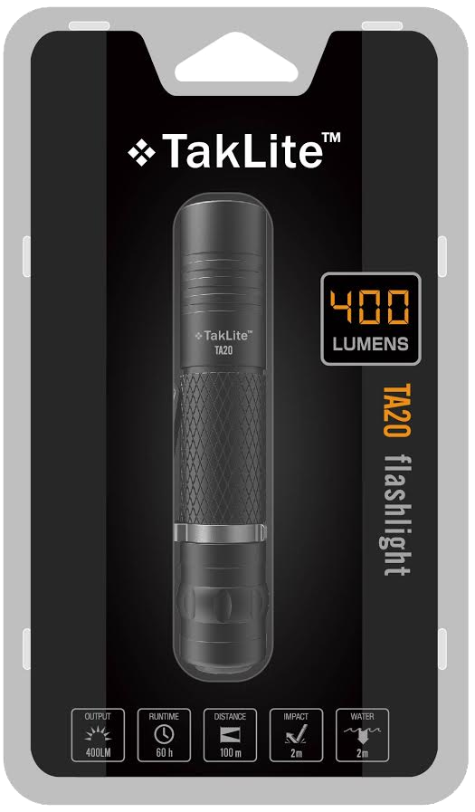 TakLite TA-20 LED Flashlight