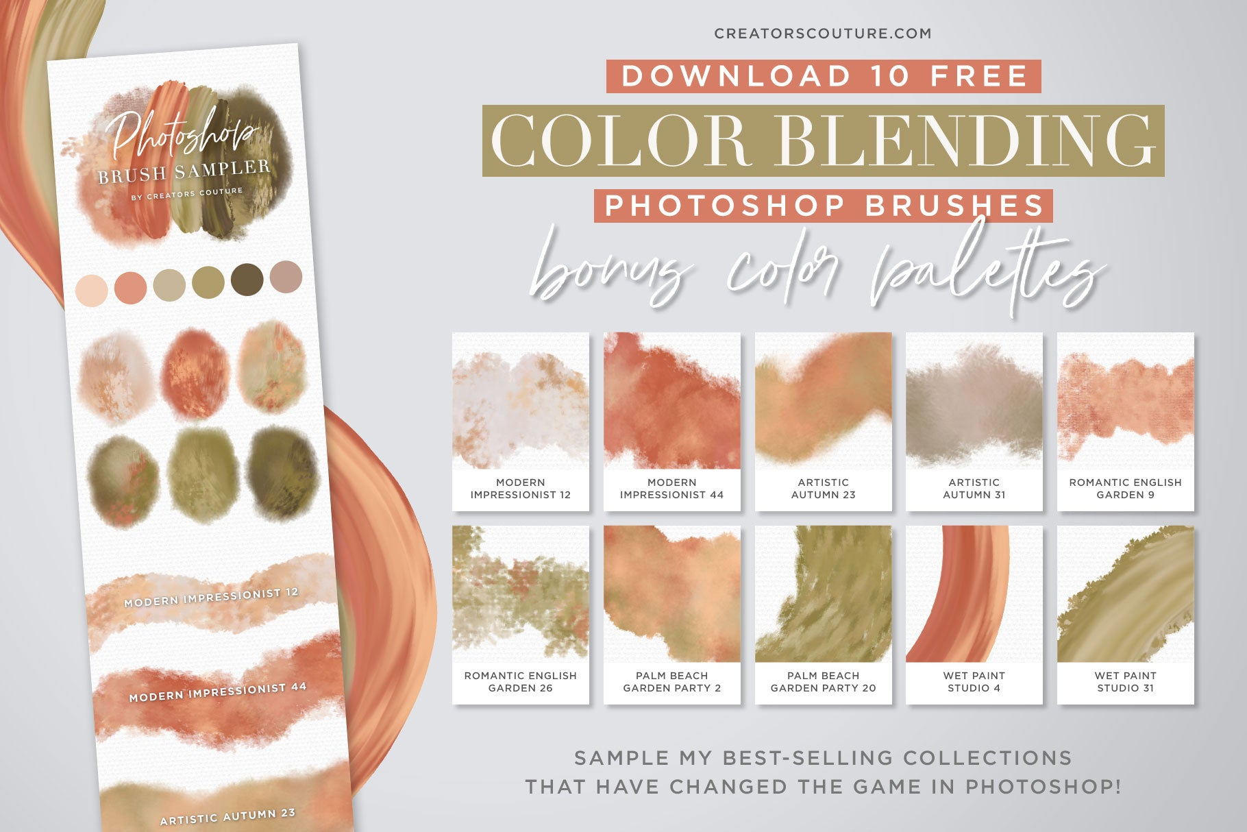 Free Brush Download: 10 Game-Changing, Color-Blending Photoshop Brushes